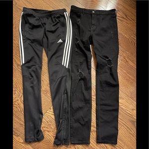 Adidas Tiro 17 pants & hollister super skinny Jean